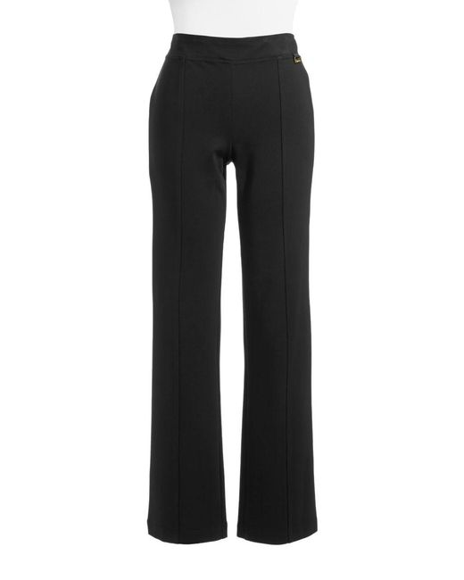 Calvin Klein | Black Powerstretch Straight-leg Pants | Lyst