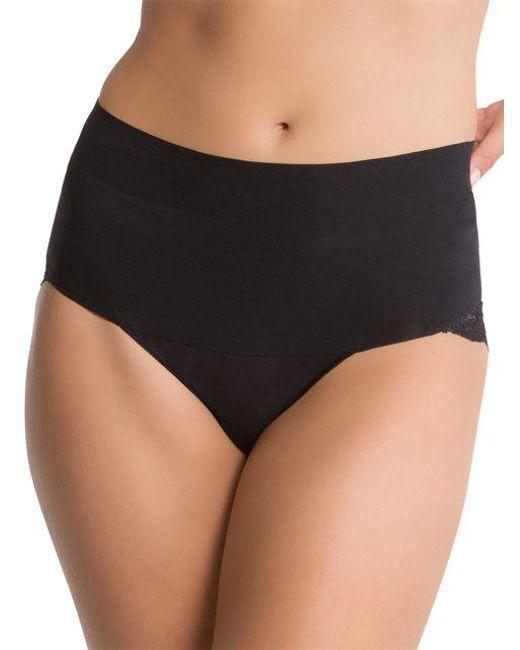 Spanx | Black Undie-tectable Lace Cheeky Panties | Lyst