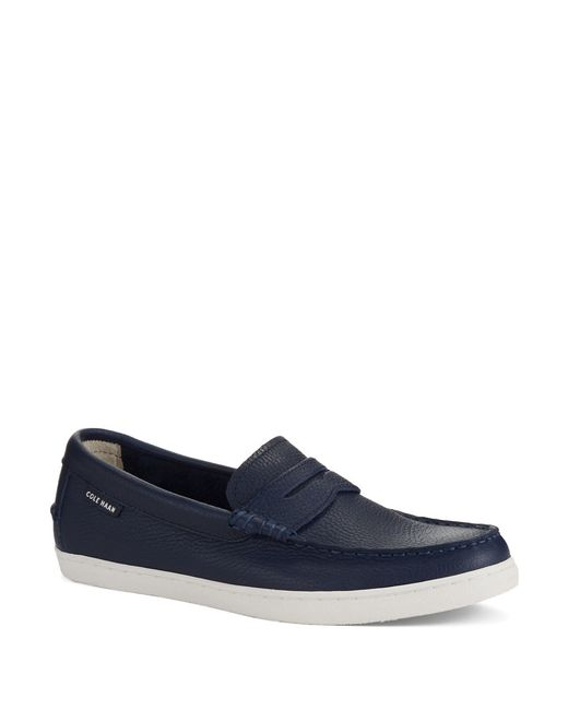 Cole Haan | Blue Pinch Leather Loafers for Men | Lyst