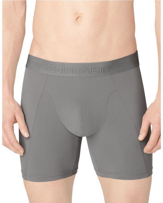 Calvin Klein | Gray Jersey Boxer Briefs for Men | Lyst