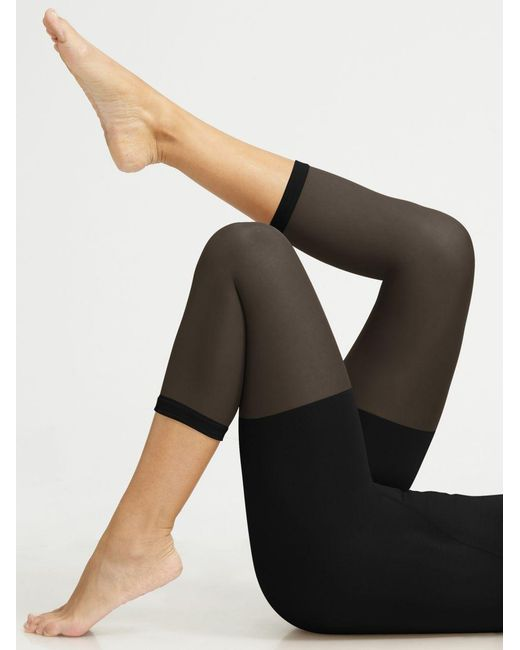 Spanx | Black In Power Line Super-high Footless Shaper | Lyst
