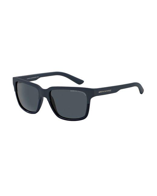 Armani Exchange | Blue Wayfarer Sunglasses for Men | Lyst