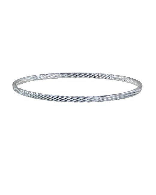 Lord & Taylor | Metallic Twisted Bangle Bracelet | Lyst
