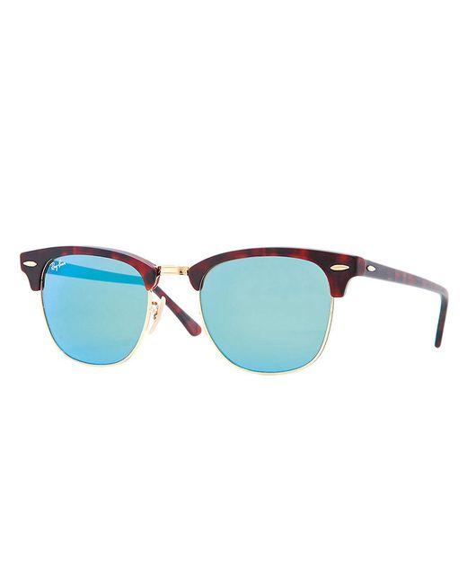 Ray-Ban | Blue Orginal Clubmaster Cat's-eye Sunglasses for Men | Lyst