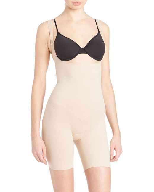 Tc Fine Intimates | Natural Low-back Torsette Thigh Slimmer | Lyst