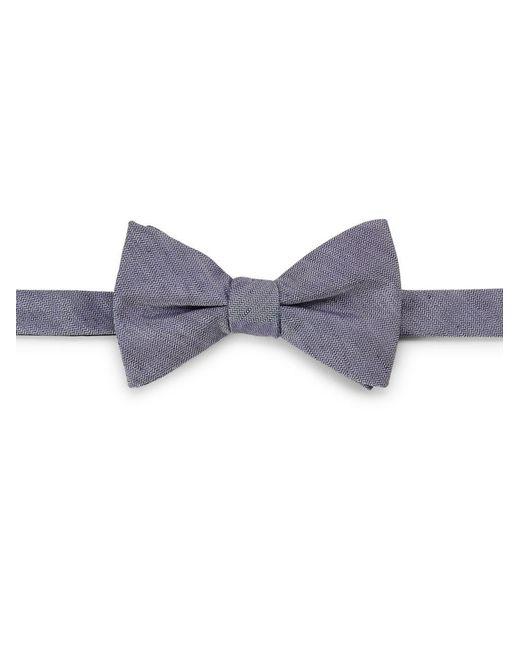 Cole Haan   Blue Silk-linen Bow Tie for Men   Lyst