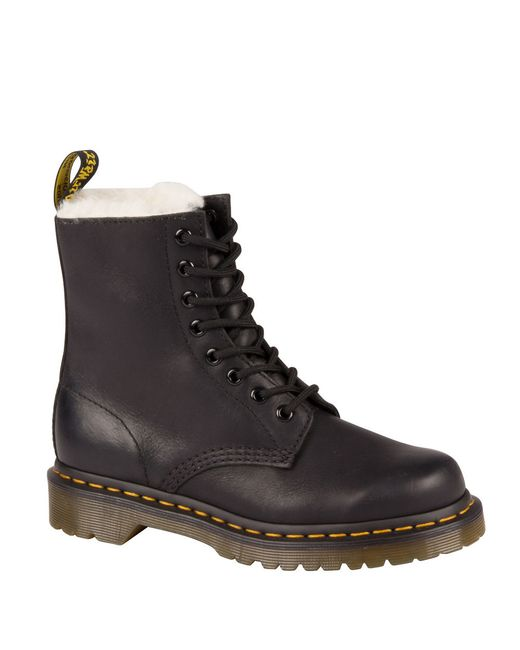 Dr. Martens | Black 1460 8 Eye Boot | Lyst