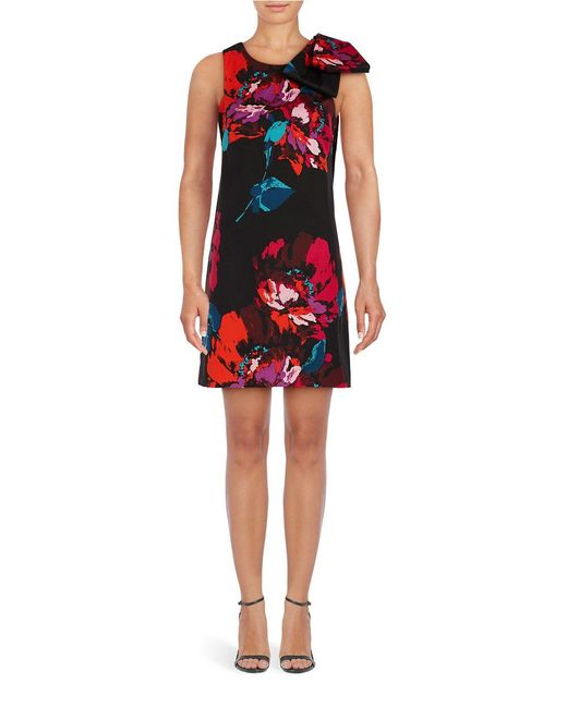 Kyoto Garden Faille Print A Line Dress By Trina Turk