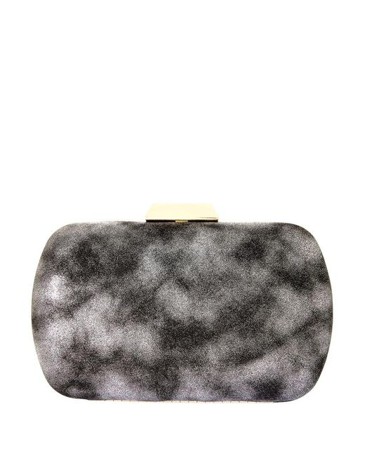 Natasha Couture | Gray Solid Convertible Clutch | Lyst