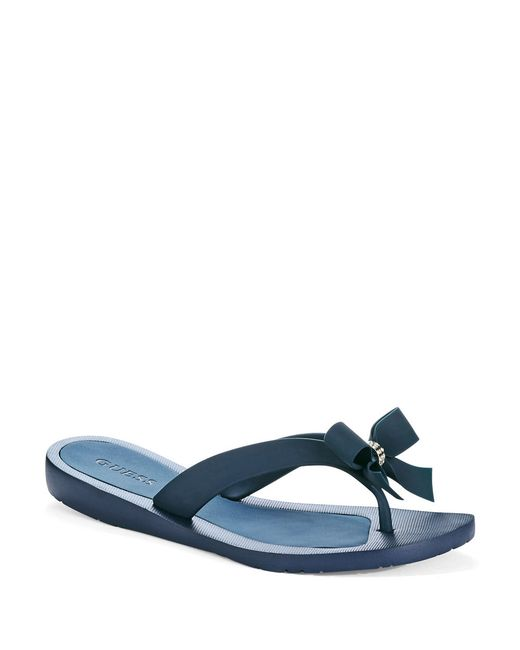 Guess | Blue Tutu Flip Flops | Lyst