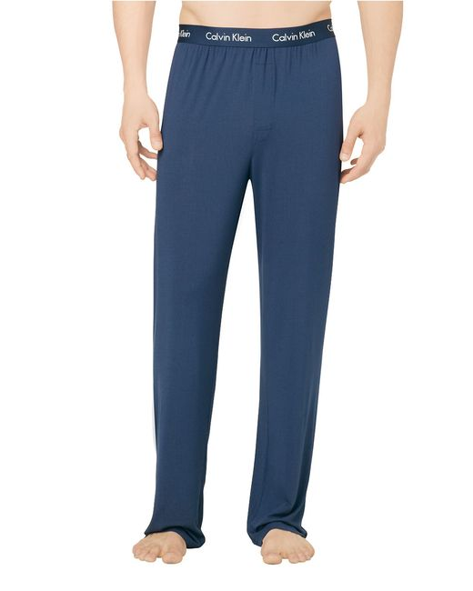 Calvin Klein | Blue Logo Lounge Pants for Men | Lyst