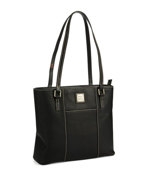 Dooney & Bourke | Black Small Lexington Shopper Tote | Lyst