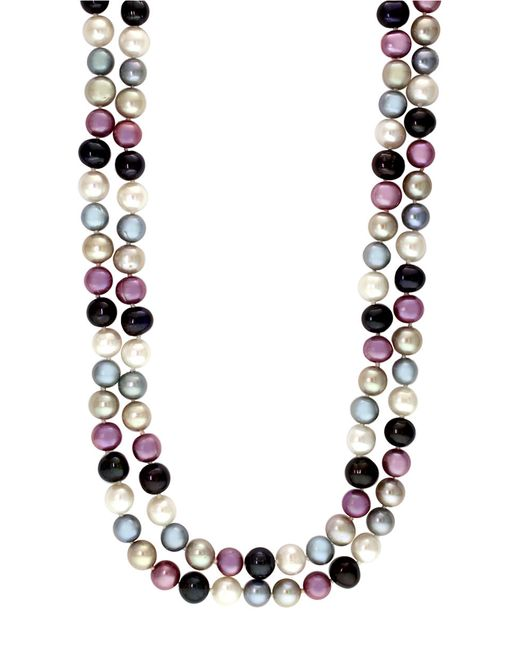 Effy | White Multi-color Pearl Necklace | Lyst
