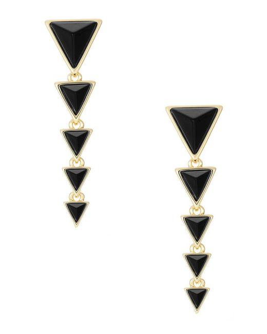 House of Harlow 1960 | Black Meteora Earrings | Lyst