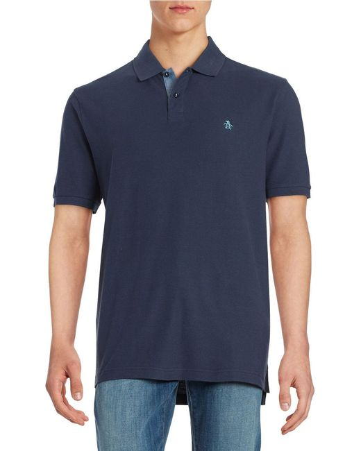Original Penguin | Blue Daddy O Polo Shirt for Men | Lyst