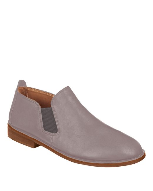 Gentle Souls | Gray Essex Leather Loafers | Lyst