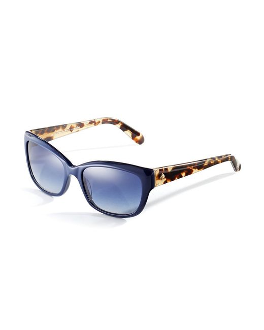 kate spade new york | Brown 55mm Johanna Cat Eye Sunglasses | Lyst
