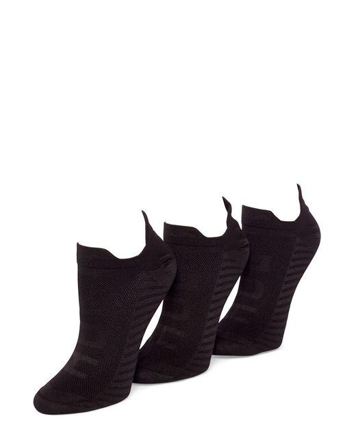 Hue | Black Three-pack Air Sleek Socks | Lyst