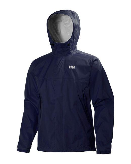 Helly Hansen Loke Shell Rain Jacket In Blue For Men Lyst