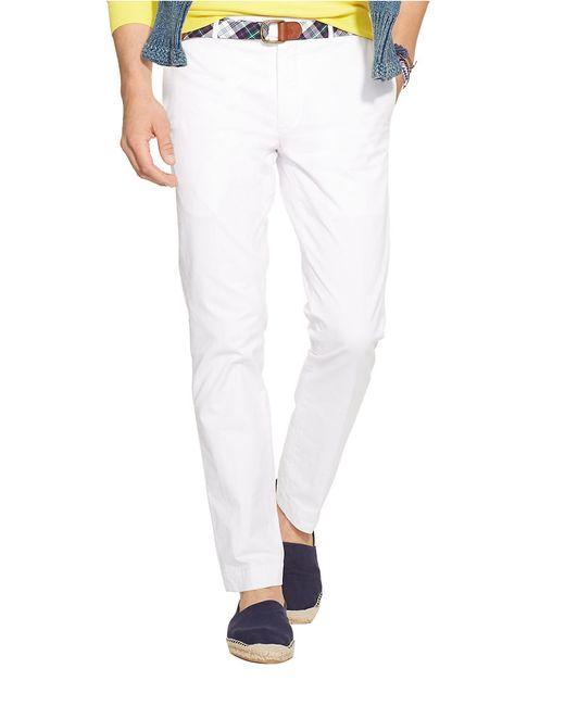 Polo Ralph Lauren   White Hudson Slim-straight Pants for Men   Lyst