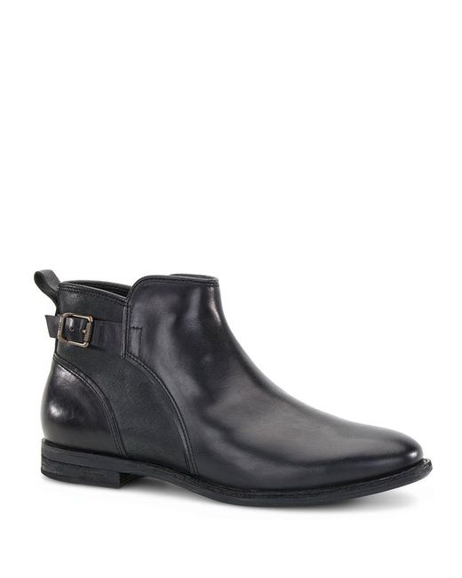 Ugg | Black Demi Leather Ankle Boots | Lyst
