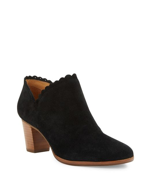 Jack Rogers | Black Marianne Suede Ankle Boots | Lyst