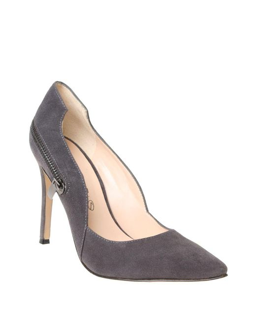 William Rast | Gray Sugar Suede Pumps | Lyst