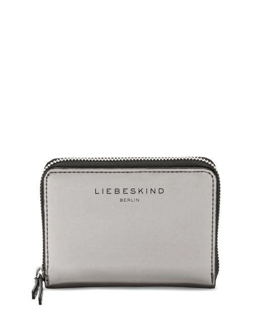 Liebeskind | Metallic Connyf7 Leather Wallet | Lyst