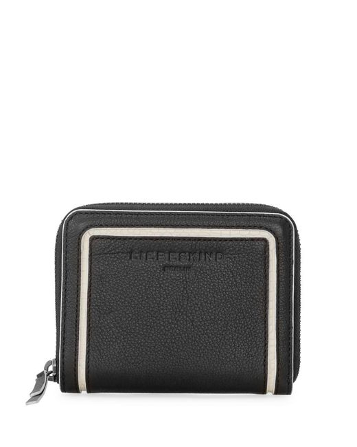 Liebeskind | Black Conny Trifold Leather Wallet | Lyst