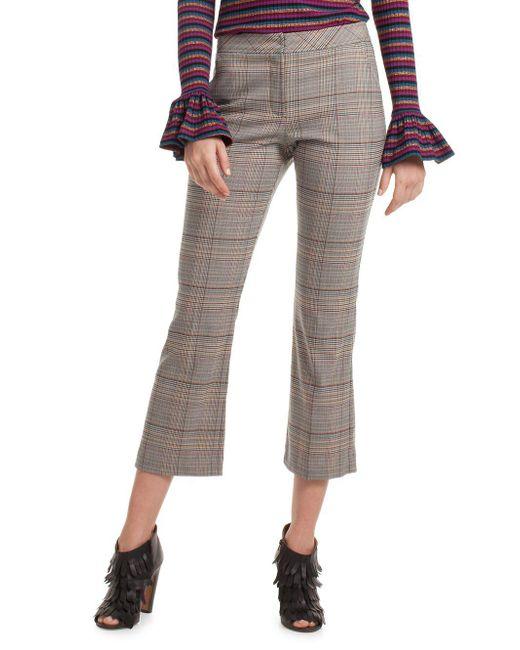 Trina Turk - Gray Highland Park Pants - Lyst