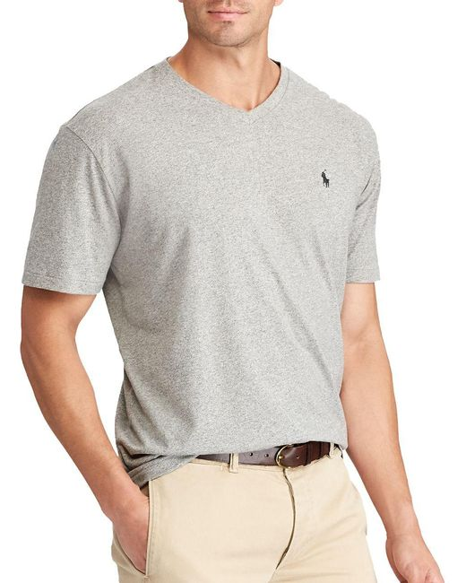 Polo Ralph Lauren | Gray Classic-fit Cotton Tee for Men | Lyst