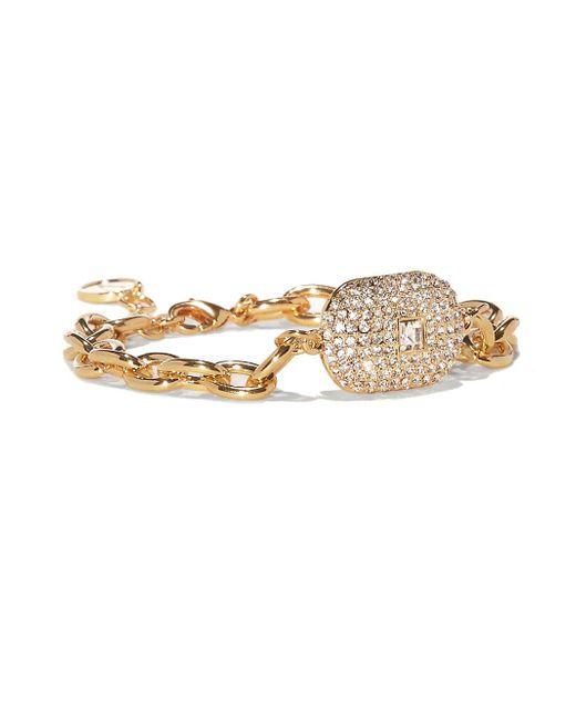Vince Camuto - Metallic Crystal Link Bracelet - Lyst