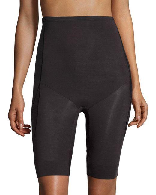 Miraclesuit - Black Derriere Lift Thigh Control High Waist Long Leg Slimmer - Lyst