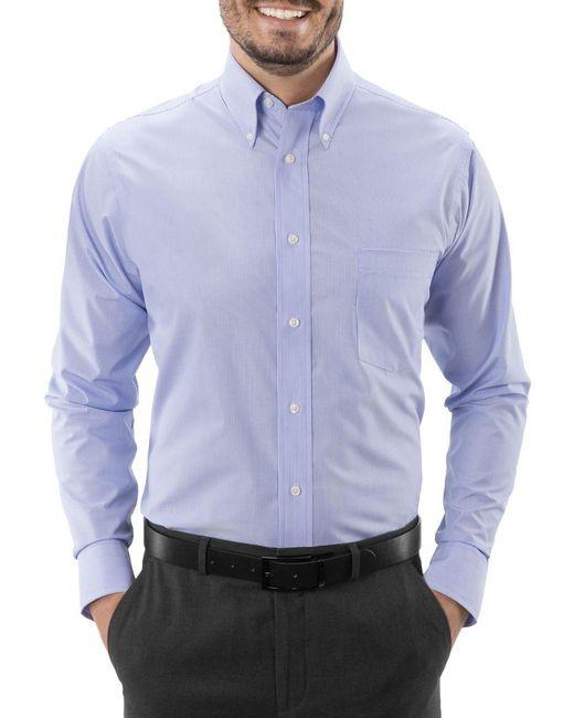 Michael Kors Regular Fit Airsoft Cotton Dress Shirt Lyst