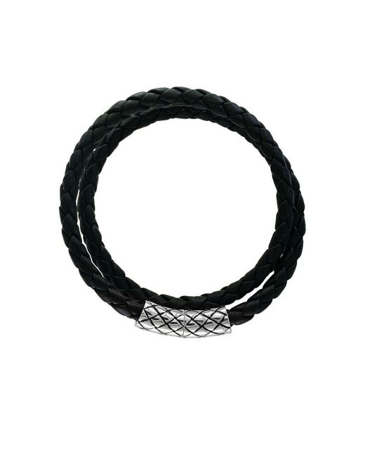 Effy - Metallic Gento Sterling Silver And Leather Bracelet - Lyst