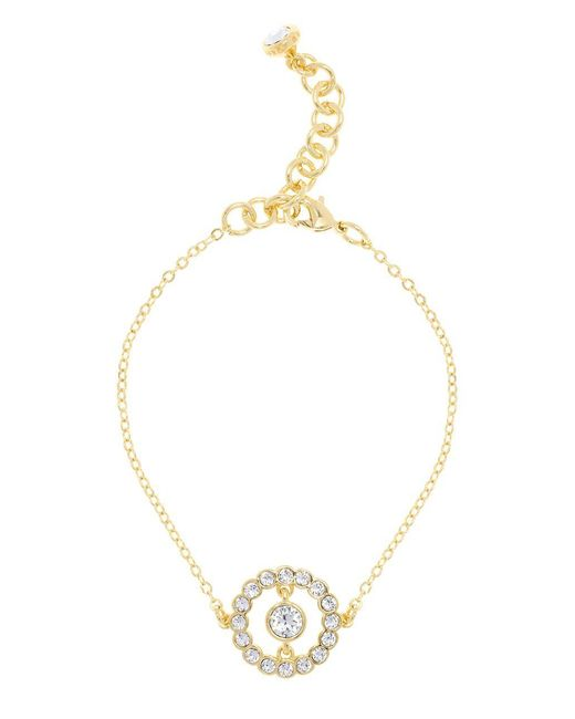 Ted Baker - Metallic Concentric Crystal Colesse Pendant Necklace - Lyst