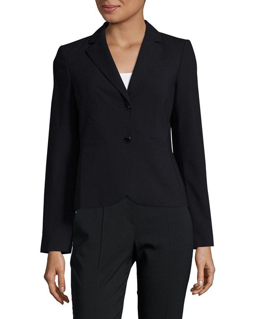 Calvin Klein | Blue Two Button Blazer | Lyst