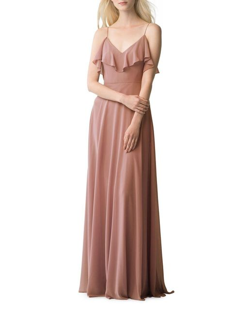 Jenny Yoo - Multicolor Mila Solid Cold-shoulder Dress - Lyst