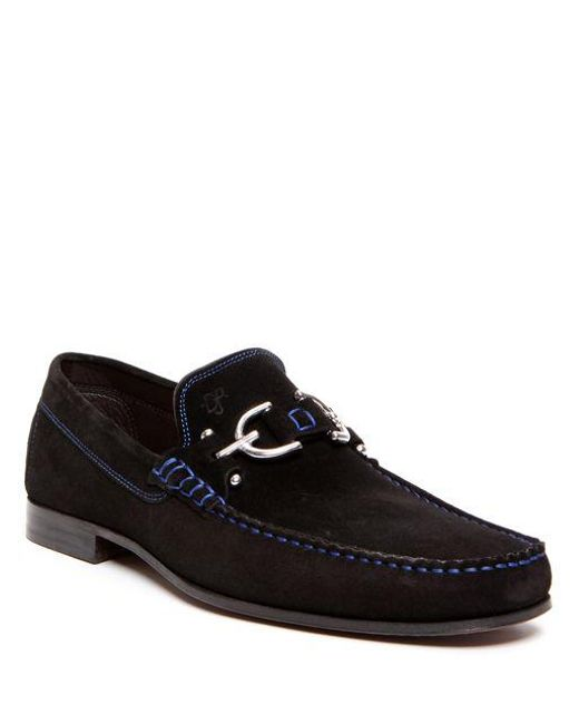 Donald J Pliner - Black 'dacio Ii' Loafer for Men - Lyst
