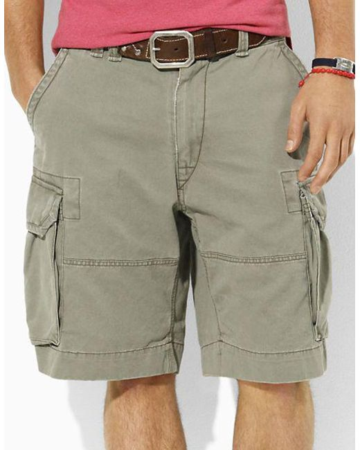 Polo Ralph Lauren - Green Classic Cargo Shorts for Men - Lyst