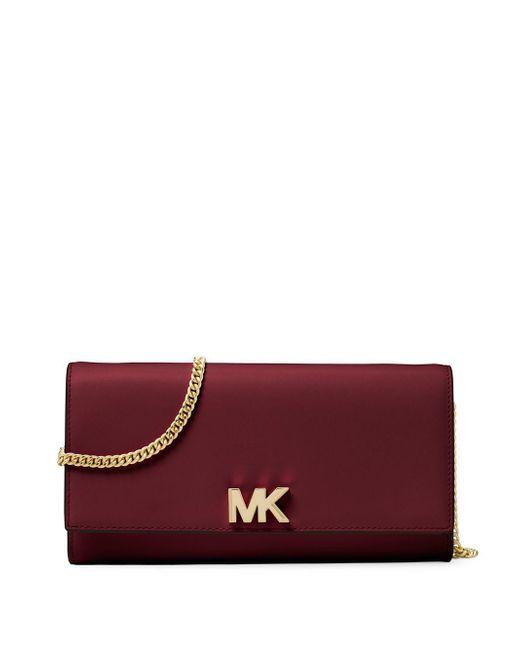 463d6bf872242f MICHAEL Michael Kors - Multicolor Large Leather Logo Crossbody Bag - Lyst  ...