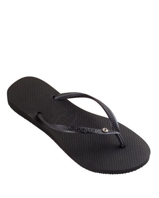 from china free shipping low price 100% guaranteed sale online Havaianas Swarovski Crystal Black free shipping really for sale footlocker fast delivery online QZeo3H9