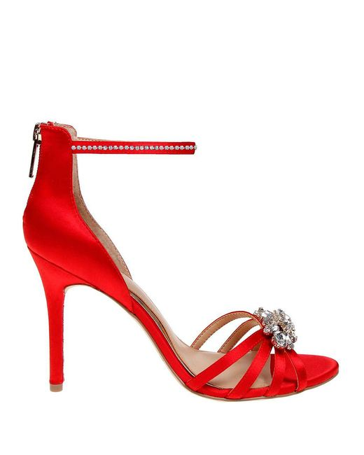 Belle By Badgley Mischka - Red Star Ankle-strap Sandals - Lyst