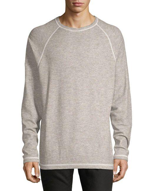 Tommy Bahama - Gray Fortuna Flip Reversible Sweatshirt for Men - Lyst