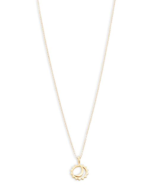 Dogeared - Metallic 'let Your Bright Light Shine' Pendant Necklace - Lyst
