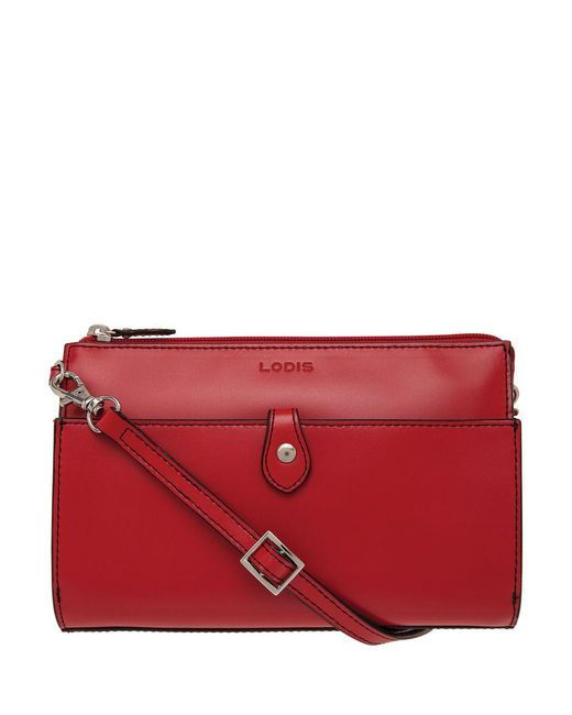 Lodis - Red Audrey Vicky Convertible Crossbody Clutch - Lyst