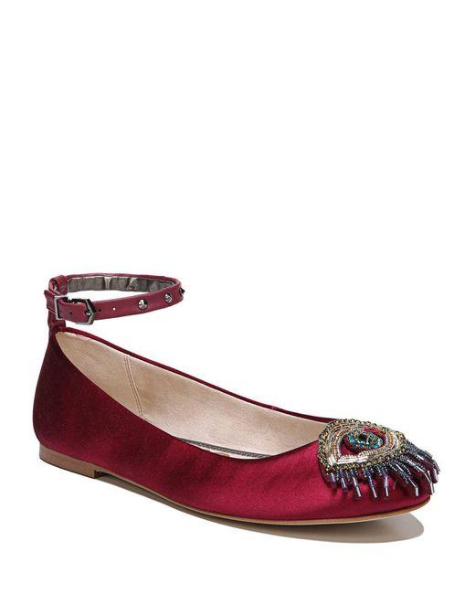 Sam Edelman - Multicolor Ferrera Cranberry Ballet Flat - Lyst