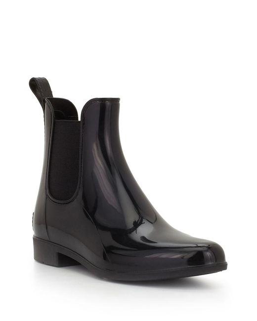 Sam Edelman - Black Tinsley Rubber Chelsea Rainboots - Lyst