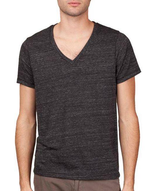 Alternative Apparel - Black Boss V-neck T-shirt for Men - Lyst
