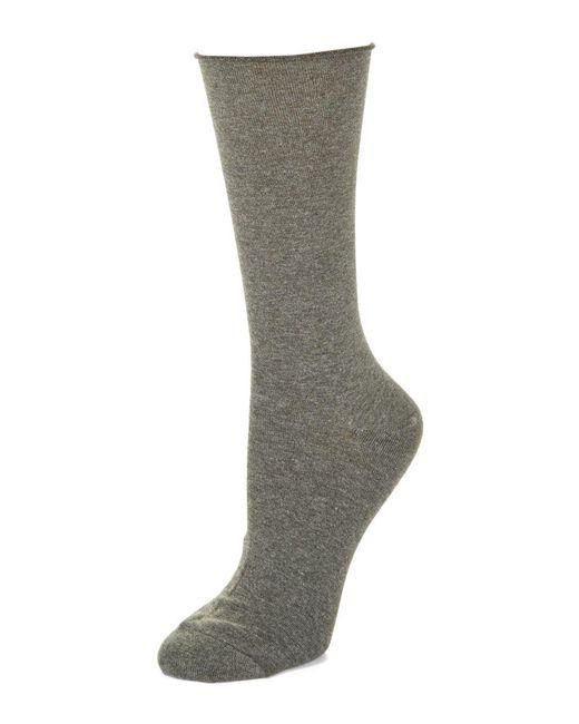 Hue | Gray Comfort Top Jeans Socks for Men | Lyst
